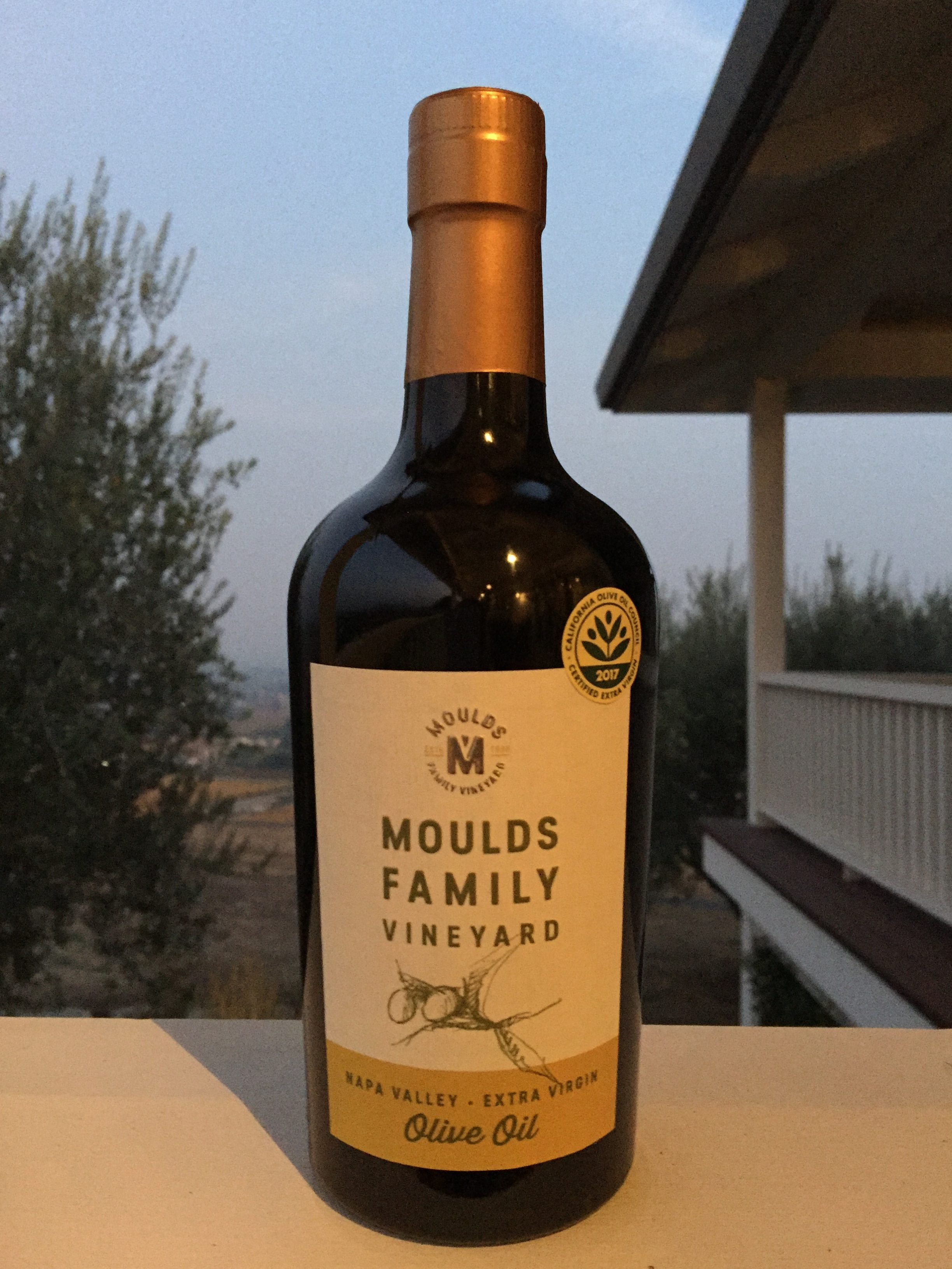 2017-2018 Moulds Family Extra Virgin Olive Oil (EVOO) 500ml