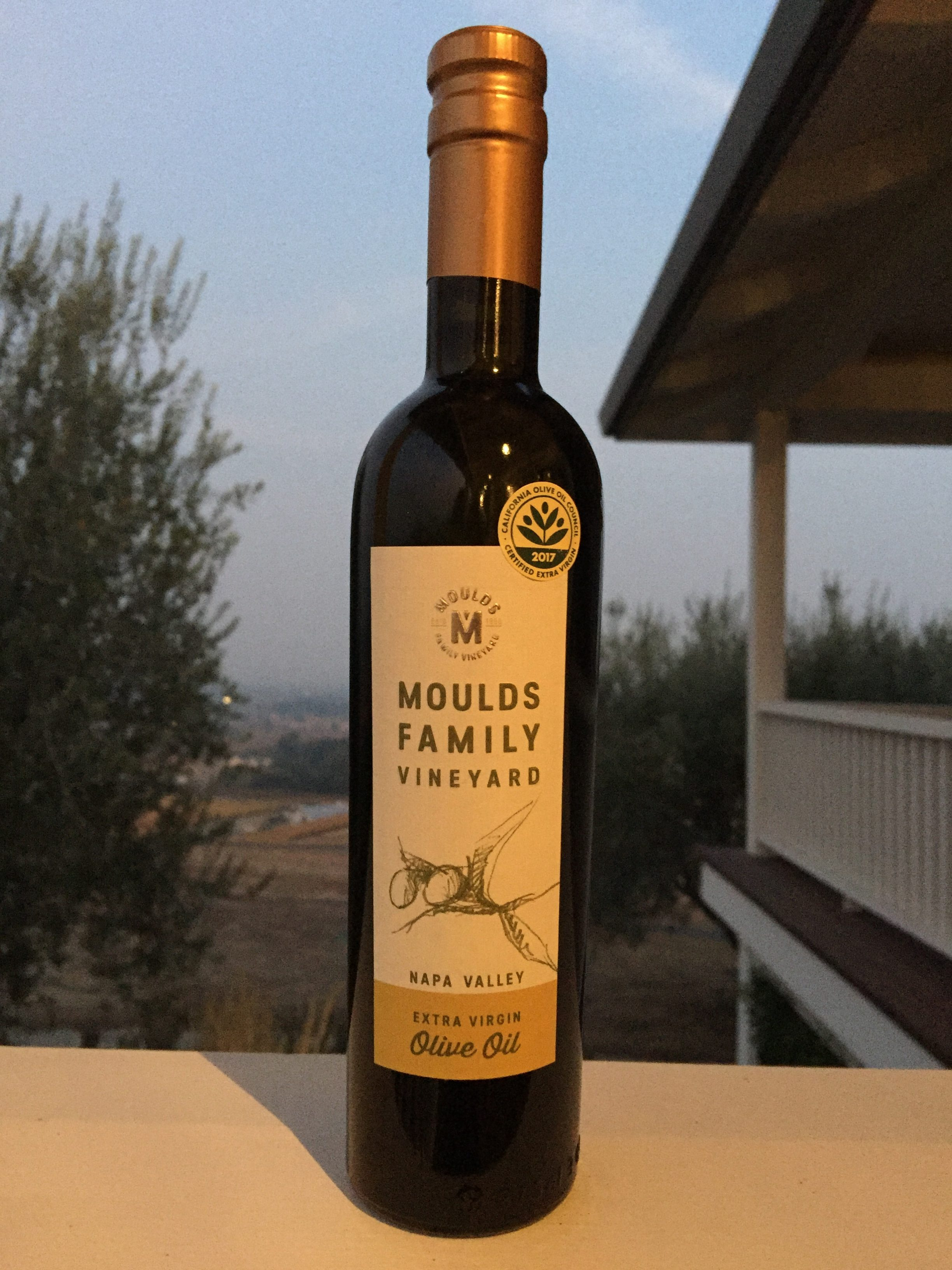 2017-2018 Moulds Family Extra Virgin Olive Oil (EVOO) 375ml